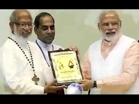 Narendra Modi at church event says will not tolerate religious violence