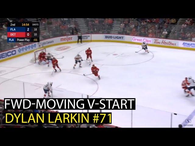 Dylan Larkin #71 🏒 | How to do Moving V-Start 🟢 💯