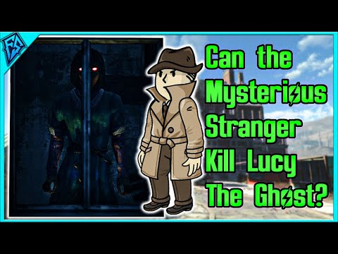 Fallout 4 | Can The Mysterious Stranger Kill Lucy The Ghost? | Nuka World