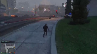 GTA 5 online chilling with the crew