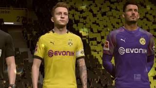 Borussia Dortmund Vs VFL Wolfsburg German Bundesliga 19 20 Gameplay FIFA 20