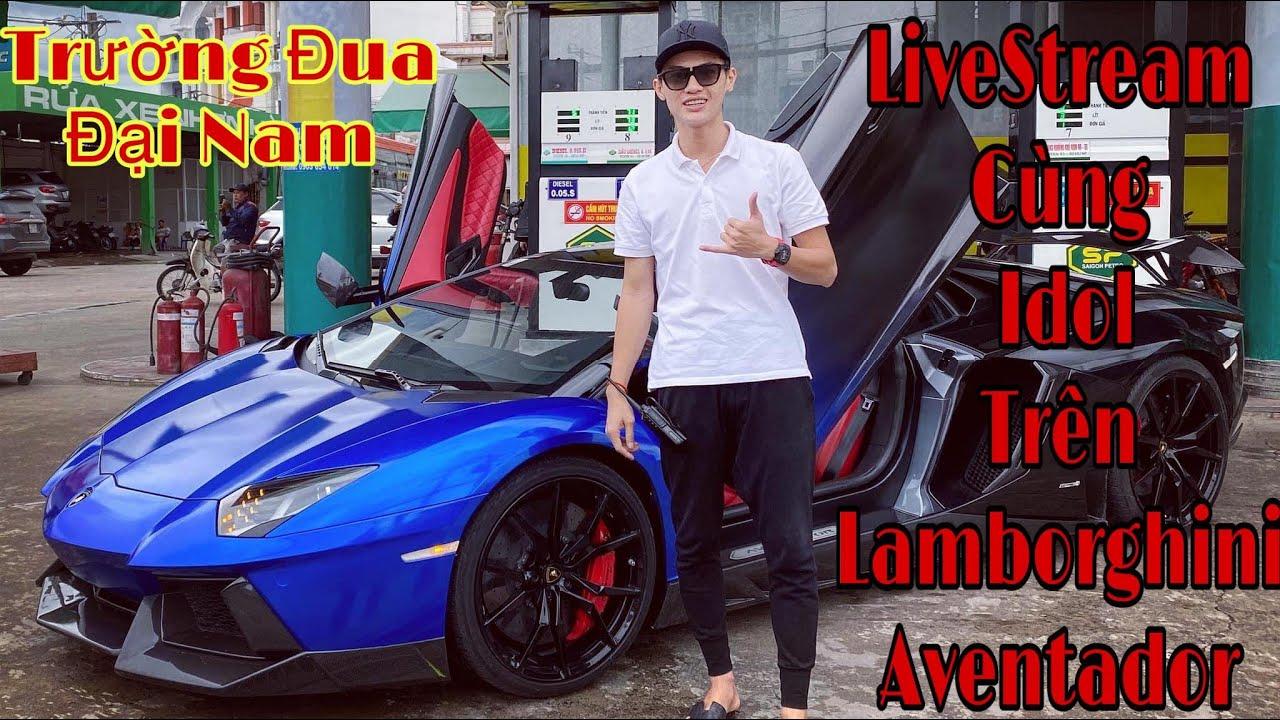 Livestream Trên Lamborghini Aventador Đua Cùng McLaren 720s vs Ferrari vs Porsche   Evo Team