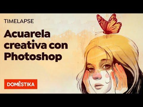 TIMELAPSE Photoshop: Creando Una Acuarela Digital Desde Cero - Ricardilus - Domestika