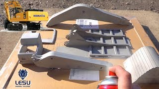 I'M BUILDING an EXCAVATOR! NEW RELEASE: LESU KOMATSU PC360 BUILD - UNBOXING | RC ADVENTURES
