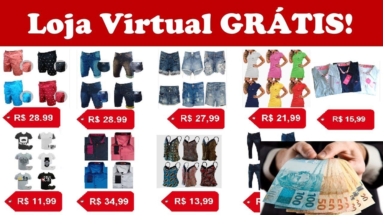 287d693ba Como Criar Uma Loja Virtual GRÁTIS 2019 Passo a Passo - Com ...