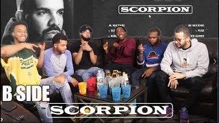 DRAKE - SCORPION B SIDE (FULL ALBUM) REACTION/REVIEW