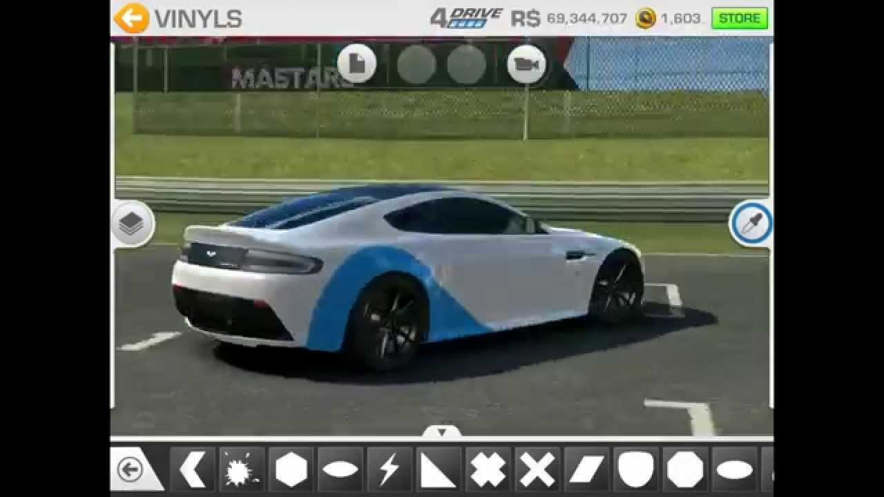 real racing 3 customization: aston martin v12 vantage s - youtube