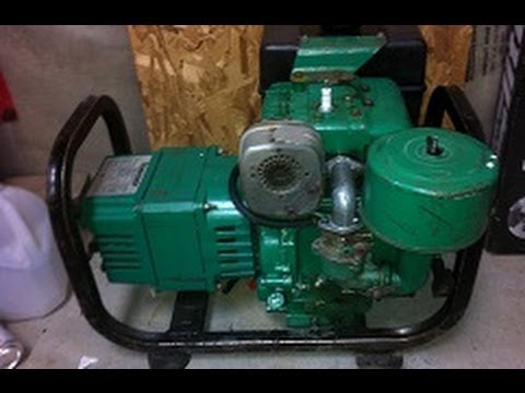 8hp Briggs And Stratton Generator Repair Part Two Of Mate 3250 You