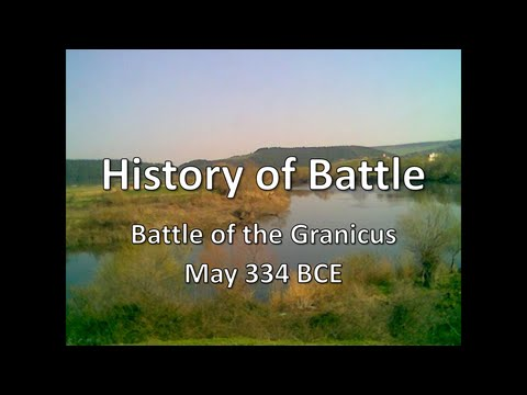 History of Battle - The Battle of the Granicus (May 334 BCE)