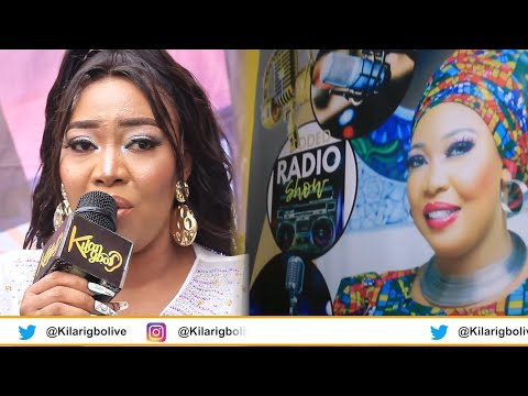 POPULAR ACTRESS WASILA CODED LAUNCHES HER CODED ONLINE RADIO STATION IN LAGOS