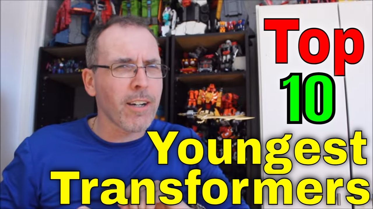 GotBot Counts Down: Top 10 Youngest Transformers