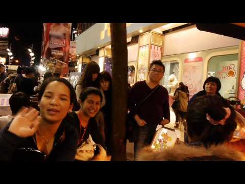 """WOW TAIWAN "" at the Ximen Shopping District"