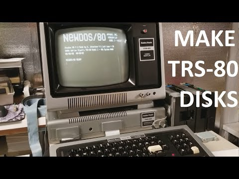 How to create floppy disks for use in a 1977 TRS-80 in 2018