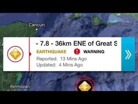 7.6 Earthquake ENE of Swan Island, Honduras 9/1/2018