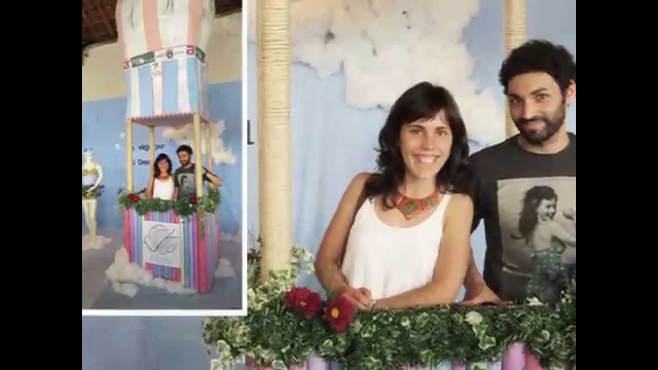 Photocall para bodas comuniones y eventos decoraci n - Photocall boda casero ...