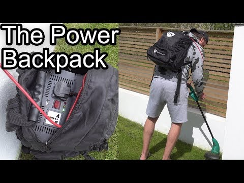 THE POWER BACKPACK!!!