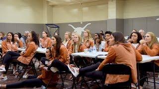 Texas Volleyball NCAA Selection Show [Nov. 27, 2017]