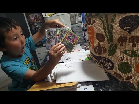 A FAN MAILED THEMSELF TO ME!! THEY WERE HIDING INSIDE THE MAIL!! POKEMON Friday Freeday #26! part 1!
