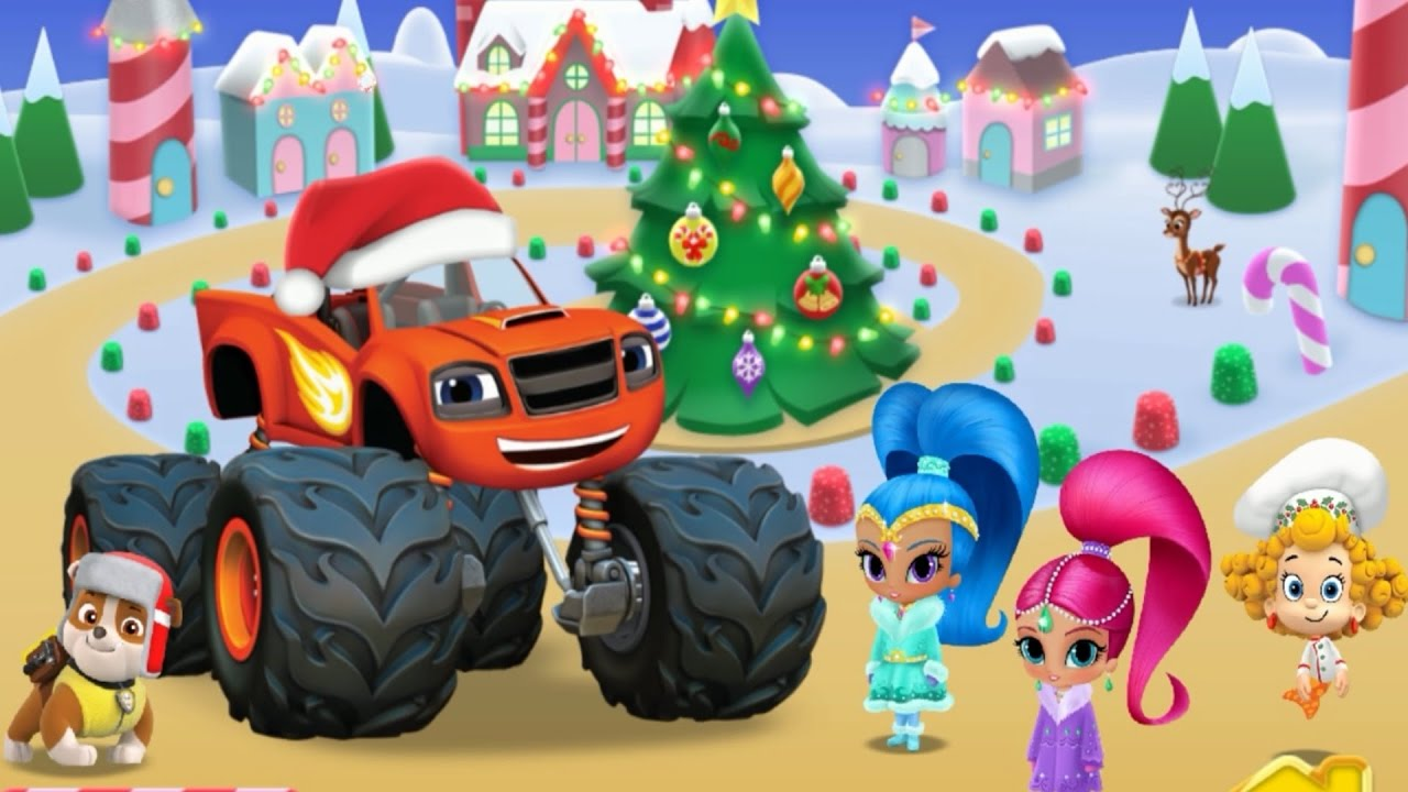 Paw Patrol Full - Nick Jr Christmas Festival Games l Games For ...