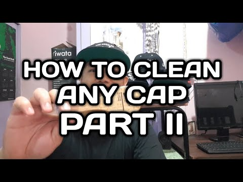 """How to clean any cap part 2 """"tagalog"""""""
