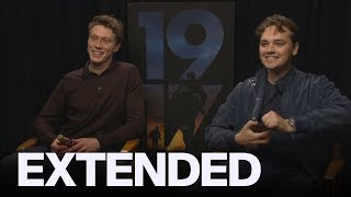 George MacKay, Dean-Charles Chapman Celebrate '1917' Golden Globe Noms The Canadian Way | EXTENDED