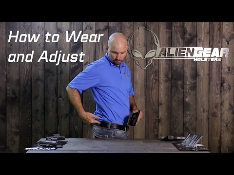 How to Wear and Adjust a Concealed Carry IWB Holster