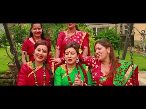 Manju Poud teej song shooting report ft Anusha Poudel