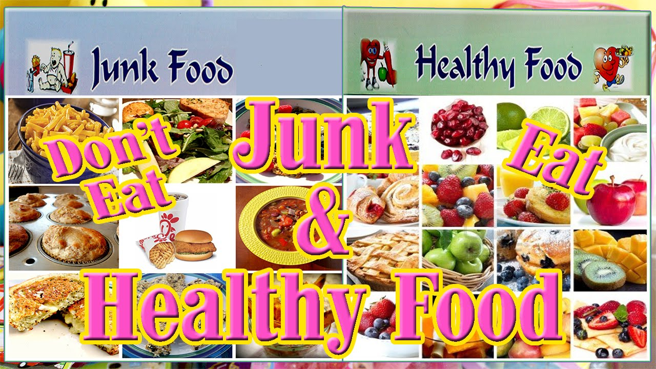 fast food and healthy food essay