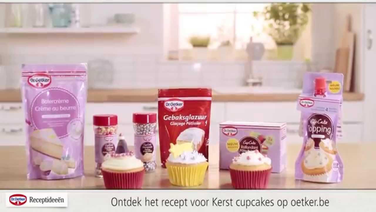 cupcakes versieren voor kerst youtube. Black Bedroom Furniture Sets. Home Design Ideas
