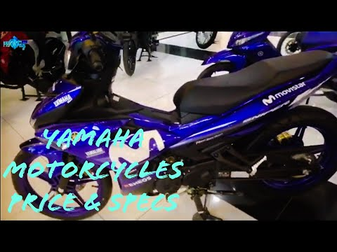 Yamaha motorcycles price in the Phlippines 2019
