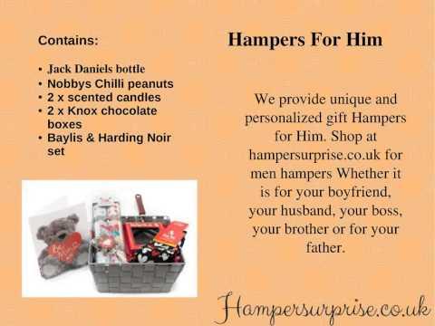 Valentines Hampers