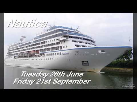 Liverpool Cruise Call Schedule 2018