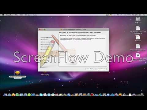iMovie 09 on powerbook g4 easiest way to install it