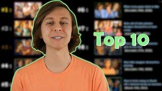 My top ten favorite videos on my channel