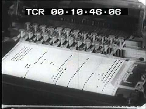 1950 early electronic synthesizer: This is music with a strictly electronic beat