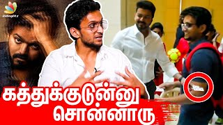 Magic Trick to Thalapathy Fans | Bigil Karthikeyan Velappan Interview | Thalapathy Vijay, Master