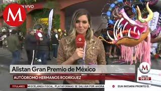 Inicia el Gran Premio de México 2019
