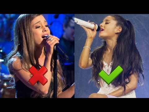 Ariana Grande: NERVOUS vs RELAXED (Vocal Comparison)