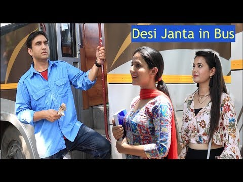 Types of People in Desi Bus -   Lalit Shokeen Films  
