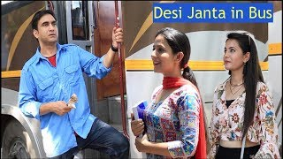 Types of People in Desi Bus - | Lalit Shokeen Films |