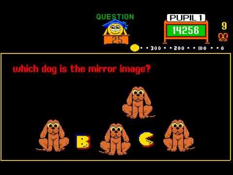 Arcade Game: Professor Pac-Man (1983 Midway)