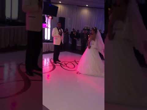 A mi me gustan mayores Becky g first wedding Dance