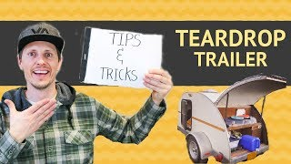 Our 14 Favorite Teardrop Trailer TIPS & TRICKS (From the Tiny Yellow Teardrop)