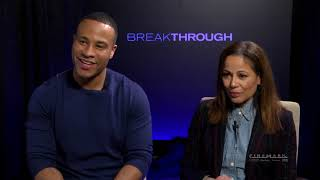 Cinemark Interviews Devon Franklin And Roxann Dawson Of Breakthrough