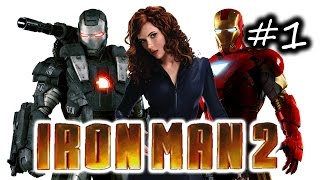 Iron Man 2 Gameplay Walkthrough Part 1 - Beginning / Stealing Jarvis