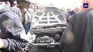 اخماد حريق في الطفيلة - (24-1-2019)