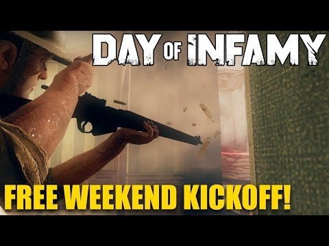 Day of Infamy Free Weekend Kickoff!