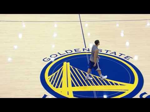 Steve Kerr Interview   Real Training Camp   Golden State Warriors   2016 17 NBA Season