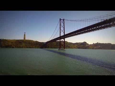 Timelapse Sailaway Port of Lisbon | Zeitraffer Lissabon | Mein Schiff 4 | 07.04.2016