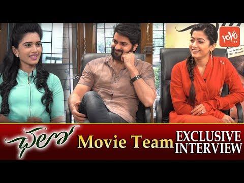 Chalo Movie Team Exclusive Interview   Naga Shourya, Rashmika Mandanna  #ChaloMovie  YOYO TV Channel